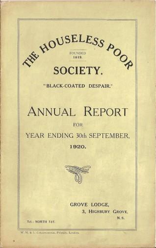 Annual Report 1920 - 1