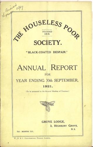 Annual Report 1921 - 1