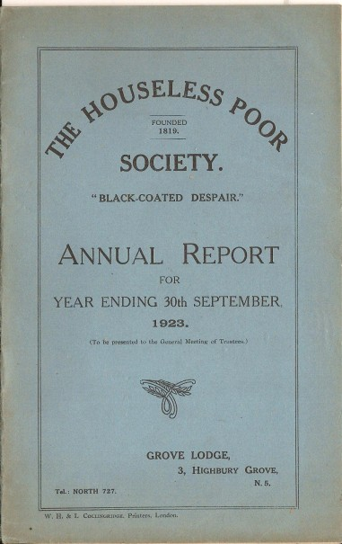 Annual Report 1923 - 1