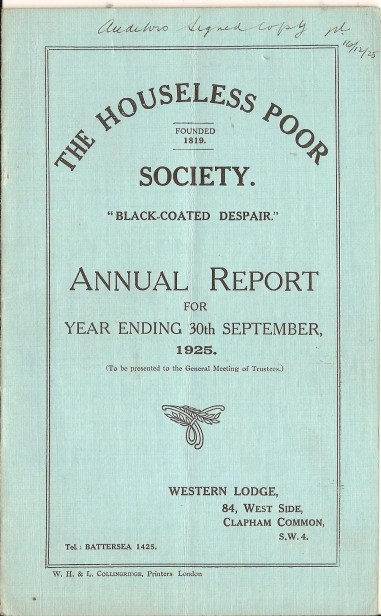 Annual Report 1925 - 1