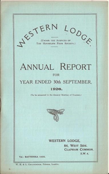 Annual Report 1926 - 1
