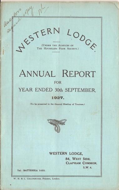 Annual Report 1927 - 1