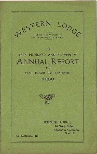 Annual Report 1930 - 1